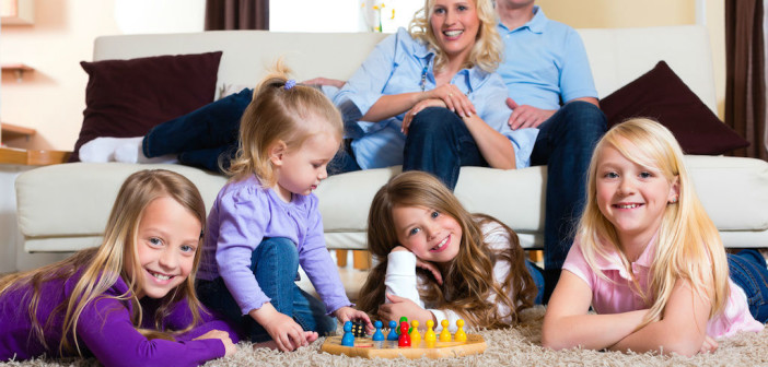 Family Night In - Tips for Planning a Stress-Free Family Games Night