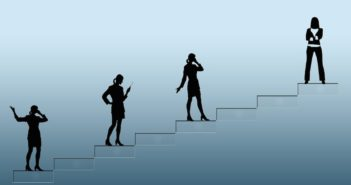 Women Climbing the Success Ladder