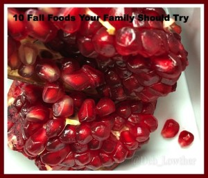 Fall Foods - Pomegranate