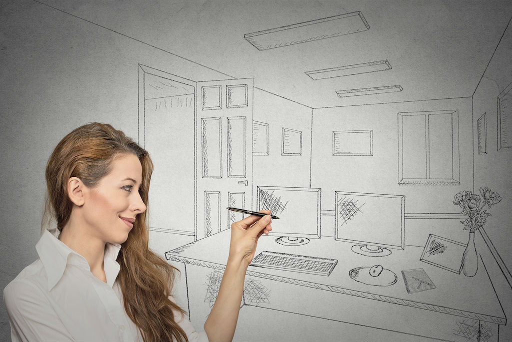 Working From Home: How To Create A Home Office Work Space By @DebHornell