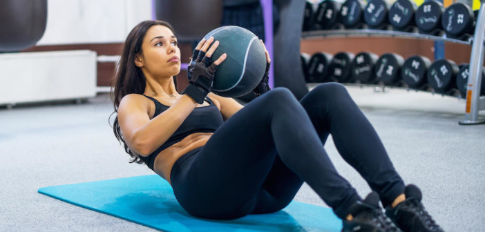 Working With Weights: How to Integrate Weights into Your Core Routine by @DPEverybodyFit