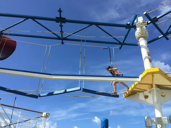 Carnival Magic_High Ropes Course