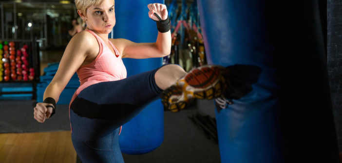 Kick Your Fitness Up a Notch With These Kickboxing Moves by @DPEverybodyFit