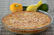 Zucchini Pie With Aged White Cheddar #Recipe
